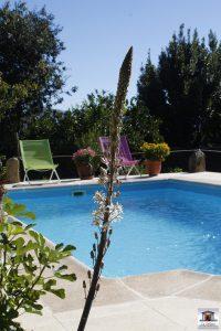 casa rural piscina