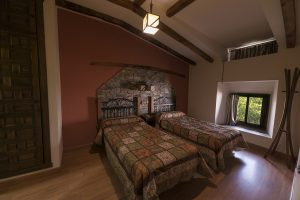 Dormitorio de Casa Rural en Monfragüe Apartamentos Rurales