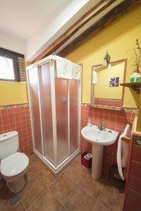 Baño de Casa Rural en Monfragüe Apartamentos Rurales