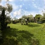 jardín casa rural la solana