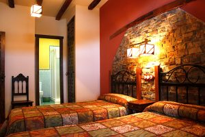 habitación apartamento casa rural monfragüe