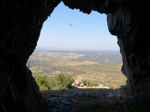 vistas dehesa extremeña desde cueva el buraco
